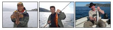 schöne Fische aus Bremanger in Westnorwegen