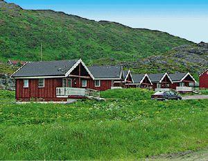 Brevik auf Sørøya Nordnorwegen