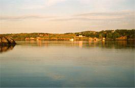 Sonnenuntergang in Norwegen