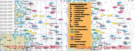 Seekartenausschnitt Norwegen