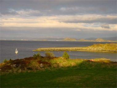 fantastischer Fjordblick auf Storfosna