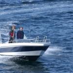 mit 50 PS in Richtung Fanggründe vor Norwegens Küste