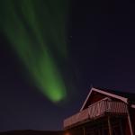 fantastisches Nordlicht in Norwegen
