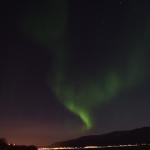 traumhaftes Farbenspiel über dem Himmel von Norwegen