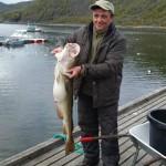 Lars Sjöberg mit herrlichem Korsfjorden-Dorsch