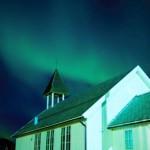 Farbspiele über Norwegen