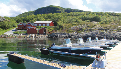 Angelregion Roan: Angelunterkünfte in  Solvika Sjøhus