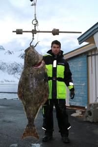 Auftakt nach Maß: 42kg Heilbutt in Loppa Havfiske