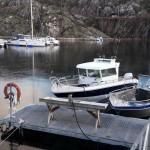 offenes Boot und Kabinenboot