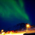 Nordlicht über Loppa