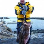 auch ein Seeteufel wurde gefangen