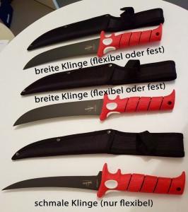 Filetiermesser von Bubba Blade