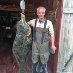 34kg Heilbutt aus Helgeland Fjordferie