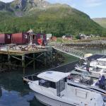 der Bootsliegeplatz in Vengsøy
