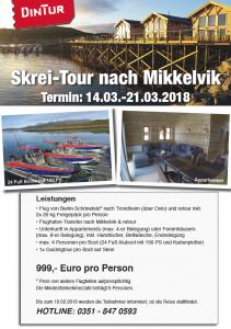 Skrei-Tour-Mikkelvik vom 14.03.-21.03.2018
