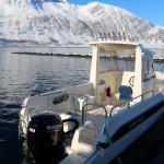 die neuen Dolmøy-Boote in Loppa Havfiske