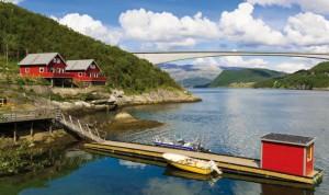 die beiden Ferienhäuser in Helgeland Fjordferie