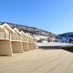 Die neuen Ferienhäuser am Dåfjord
