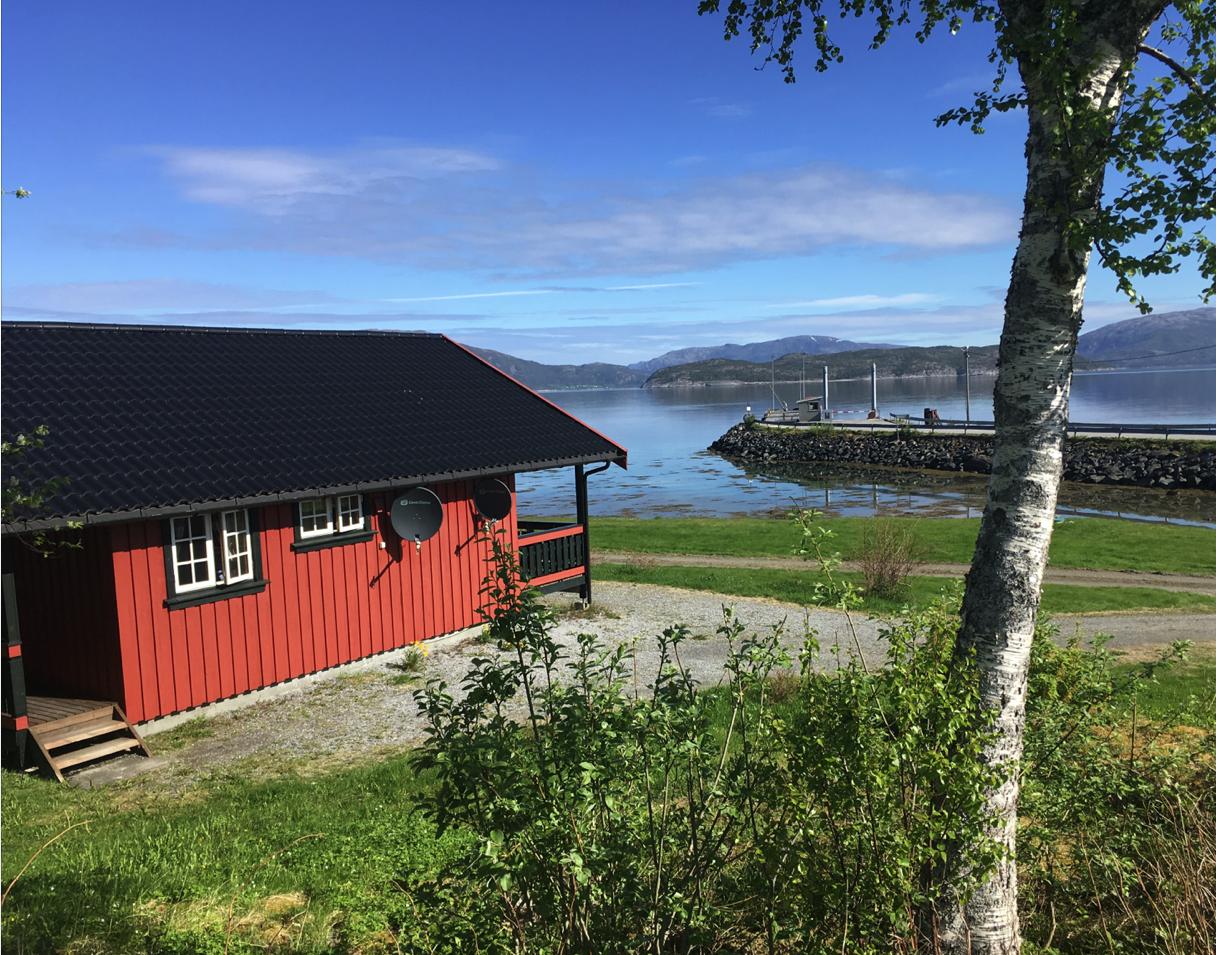 Das Ferienhaus weckt gleich Urlaubsfeeling