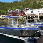 Amberfish mit Blick auf die Seehäuser