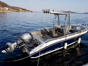 22 Fuß Kaasbøll Angelboot in Grytøy Havfiske