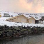 Baufortschritt Sørøya Rorbu