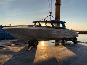 """Transferboot Sørøya Rorbu, was eine """"Rakete"""""""