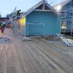 Risøyhamn Sjøhus - Baufortschritt