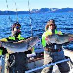 gute Laune in Rotsund Seafishing