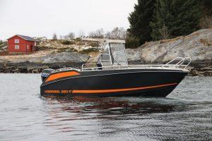 Kaasbøll 660 F in Myken Brygge
