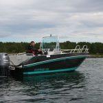 das neue Angelboot